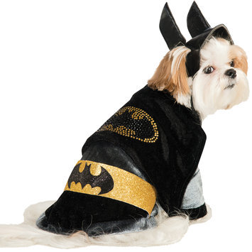 Rubies Costume DC Heroes and Villains Collection Pet Costume, Large, Cuddly Batman