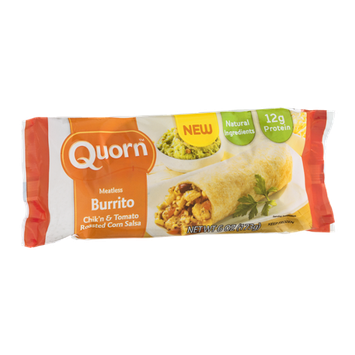 Quorn Burrito Chik'n & Tomato Roasted Corn Salsa Meatless