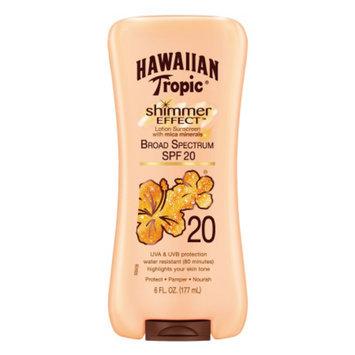 Hawaiian Tropic Shimmer Effect Lotion Sunscreen