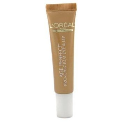 L'Oréal Age Perfect Pro-Calcium Eye and Lip Cream for Very Mature Skin, 0.5-Ounce Tube