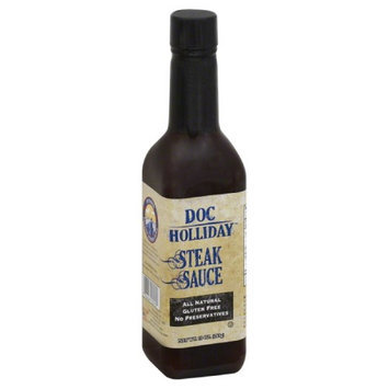 Doc Holiday 10 oz. Steak Sauce - Case Of 12