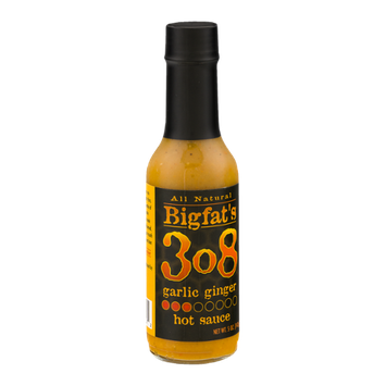 Bigfat's 308 Hot Sauce Garlic Ginger