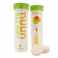 Nuun Hydration Tablets All Day -Tangerine Lime Case of 8 16 Tablets