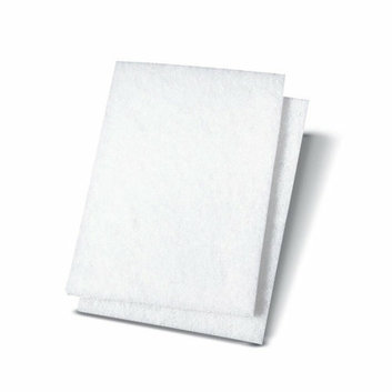 PREMIERE PADS Light Duty Scour Pad in White