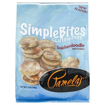 Pamela's Products Simple Bites Gluten Free Mini Cookies Snickerdoodles 7 oz
