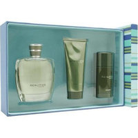 Realities (new) By Liz Claiborne For Men. Set-cologne Spray 3.4 OZ & After Shave Soother 3.4 OZ & Deodorant Stick 2.5 OZ