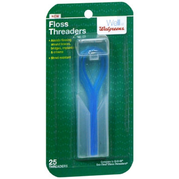 Walgreens Floss Threaders, 25 ea