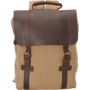 R & R Collections Canvas Laptop Backpack