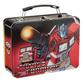 Vandor Transformers Large Tin Tote