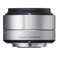 Sigma 30mm f/2.8 DN Lens for Micro 4/3 (Silver)