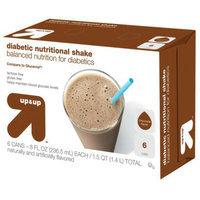 Up & Up Chocolate Diabetic Nutritional Shakes 8 fl oz - 6 Bottles