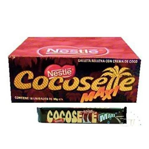 Nestlé Cocosette Maxi Galleta Rellena De Coco 900 grs.(18 pieces of 50 grs.each)