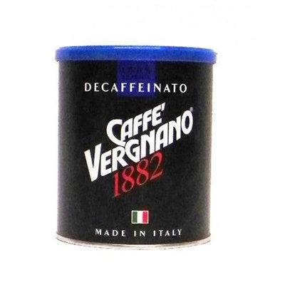 Caffe Vergnano Fine Grind Decaffeinated Coffee 8.8 oz