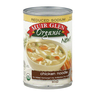 Muir Glen Reduced Sodium Chicken Noodle Soup