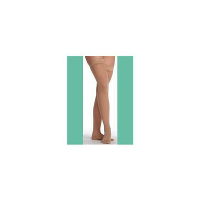 Juzo 2502AGPESB18 IV Hostess Closed Toe Thigh Highs Petite with Silicone - Noblesse