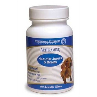 International Veterinary Sciences Arthramine Max Healthy Joints & Bones Chewable Tablets 60 ct