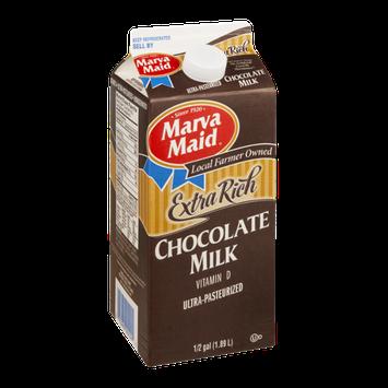 Marva Maid Extra Rich Chocolate Milk Vitamin D