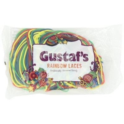 Gustaf's Rainbow Laces, 2-Pound Bags (Pack of 3)