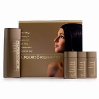Liquid Keratin 30 Day Straight-Smooth-Strong & Long Treatment Starter Kit