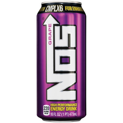 Nos Grape High Performance Energy Drink