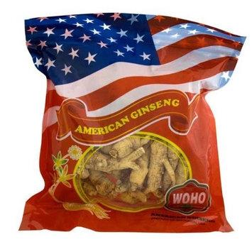 WOHO American Ginseng #150.8 Raw Short Large Roots 8 oz bag