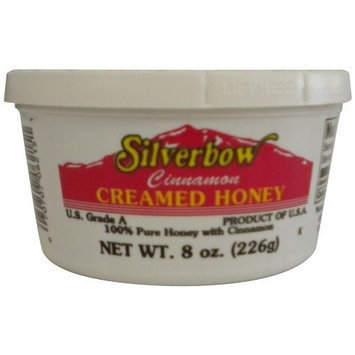 Silverbow Honey Silverbow Cinnamon Cream Honey, 8-Ounce (Pack of 6)