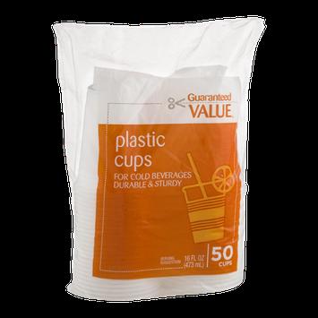 Guaranteed Value Plastic Cups