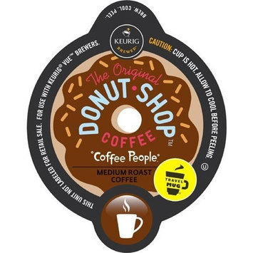 Keurig V-Cup Coffee People Donut Shop Travel Mug 12ct