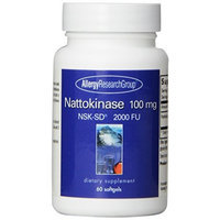 Nattokinase 100 Mg Super Extra Strength - NSK-SD - 2000 FU - 60 Softgels - Allergy Research Group