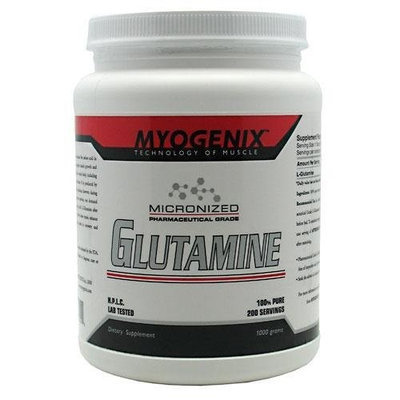 Myogenix Glutamine 1000 Grams, 2.2 Pounds