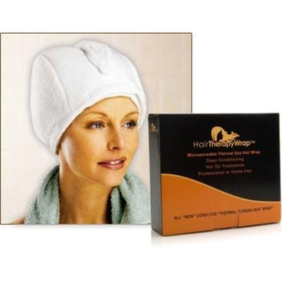 Hair Therapy Wrap Thermal Spa Hair Wrap - White