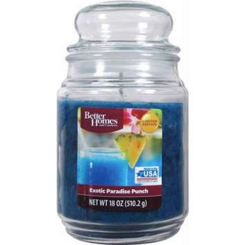 Better Homes and Gardens 18-Ounce Scented Candle, Exotic Paradise Punch