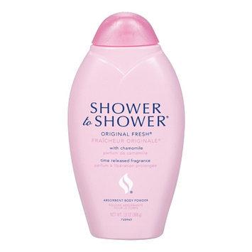 Shower to Shower Absorbent Body Powder, Original Fresh, 13 oz