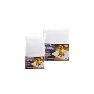 ClearQuest Clearquest US6121 02 Washable Puppy Pad 2Pk L