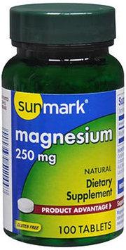 Sunmark Magnesium Tablets, 250 mg, 100 Tabs by Sunmark