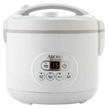 Aroma 12-Cup Digital Rice Cooker and Food Steamer