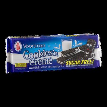 Voortman Cookies'n Creme Wafers Sugar Free