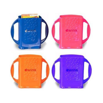 4-pack Dwink Juice Box Holders - one of each color