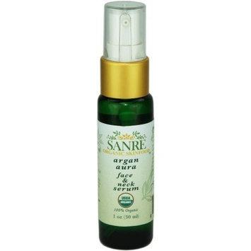 SanRe Organic Skinfood - Argan Aura - 100% USDA Organic Clearing and Anti-Aging Serum For Aging to Problem Skin