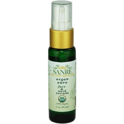 SanRe Organic Skinfood - Argan Aura - 100% USDA Organic Clearing and Anti-Aging Serum For Aging to Problem Skin