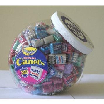 Canels Canel's The Original Chewing Gum 7 Flavors Assortment 300 Count Tub NET WT 3 Lbs 4.91 OZ
