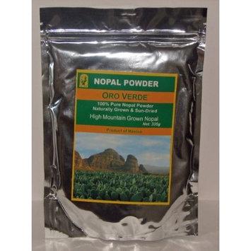 Nopal Powder - Prickly Pear, Product Of Mexico Nopal Powder - 100% Pure High Mountain Grown & Sun-Dried, 335g