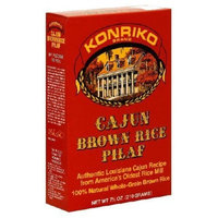 Konriko, Rice Pilaf Cajun Brown, 7.5 OZ (Pack of 12) ( Value Bulk Multi-pack)