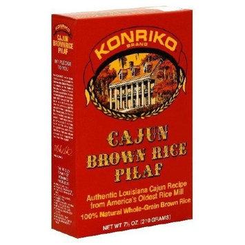 Konriko, Rice Pilaf Cajun Brown, 7.5 OZ (Pack of 12) ( Value Bulk Multi-pack)