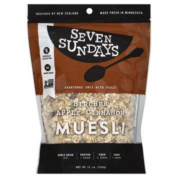 Seven Sundays Muesli Bircher Unsweetened 12 Oz Pack Of 6