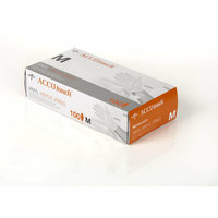 Medline X Large Accutouch Powder Free and Latex Free Synthetic Exam Gloves
