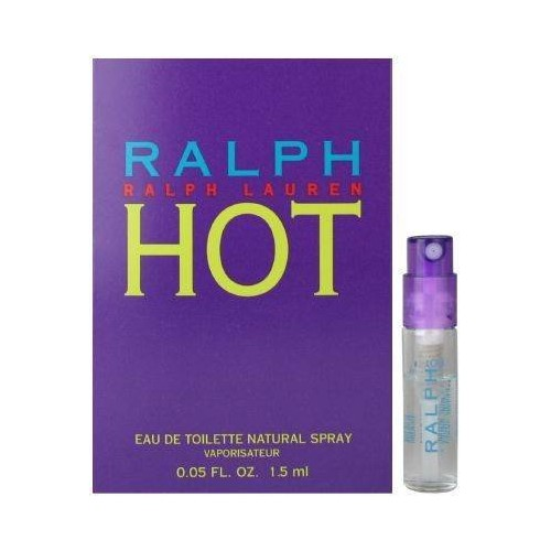 RALPH HOT By RALPH LAUREN EDT SPRAY VIAL For Women 1.5 ML