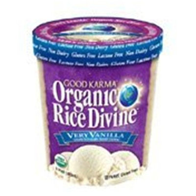 Good Karma Organic Very Vanilla Rice Divine, Size: 8/pint