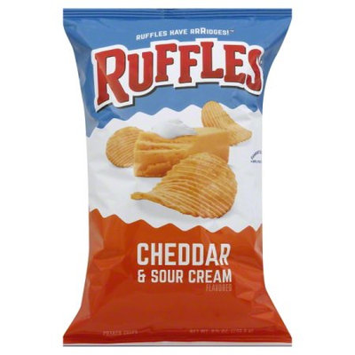 Ruffles® Potato Chips Cheddar & Sour Cream