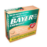 Bayer Chewable Low Dose Aspirin, 216 Tabs